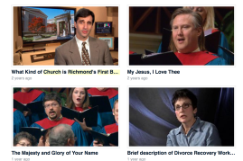 A portion of FBC's Vimeo channel.